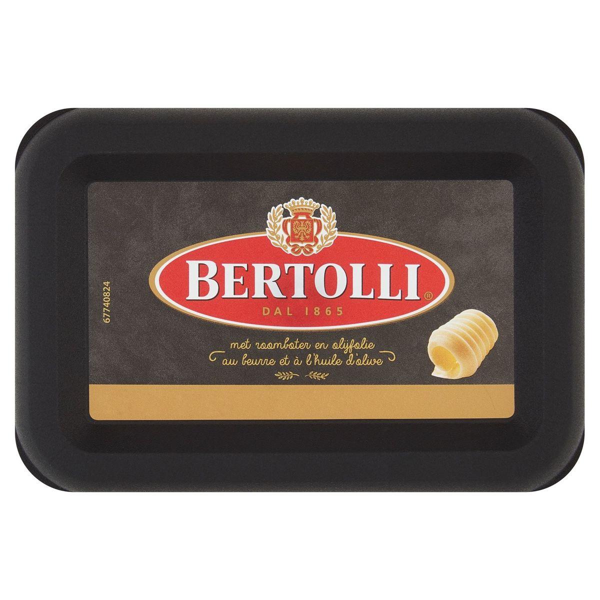 Bertolli   Smeren   Met boter   Ongezouten   225g