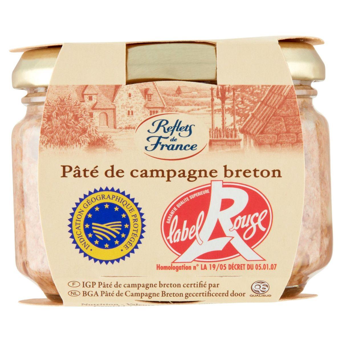 Reflets de France Pâté de Campagne Breton 180 g