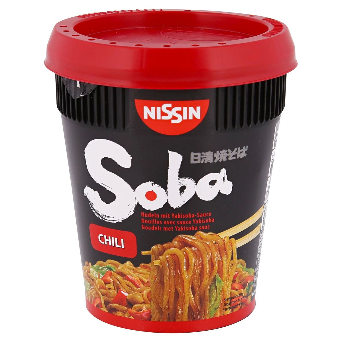 Nissin Soba Noedels Chili 92 g