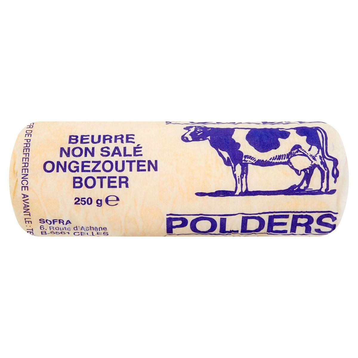 Polders Ongezouten Boter 250 g