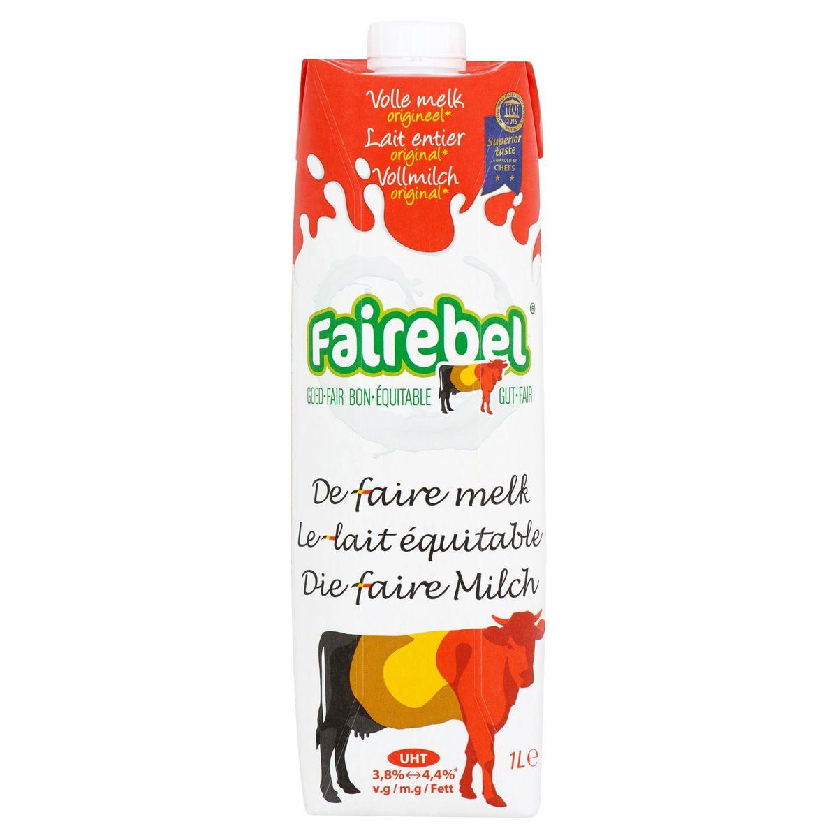 Fairebel Lait Entier Original 1 L