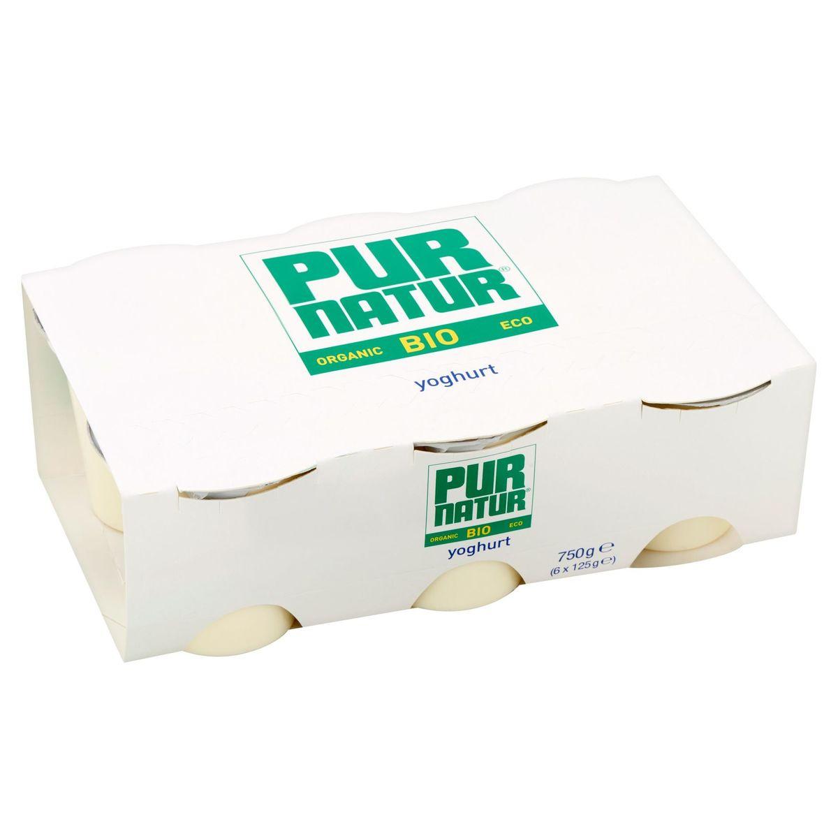 Pur Natur Bio Yoghurt 6 x 125 g