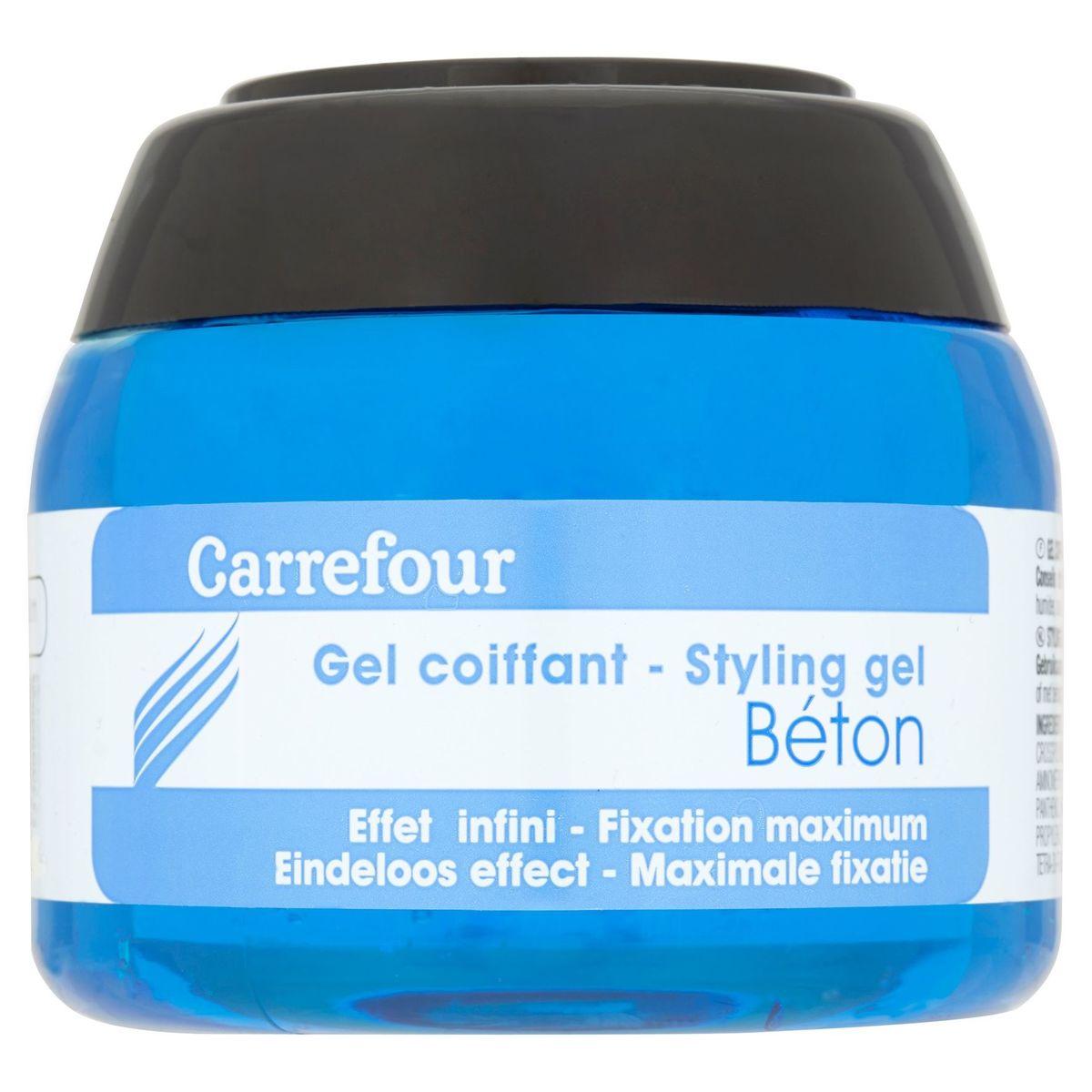 Carrefour Gel Coiffant béton 250 ml