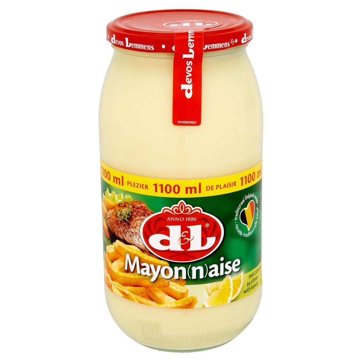 Devos Lemmens Mayonnaise au Citron 1100 ml