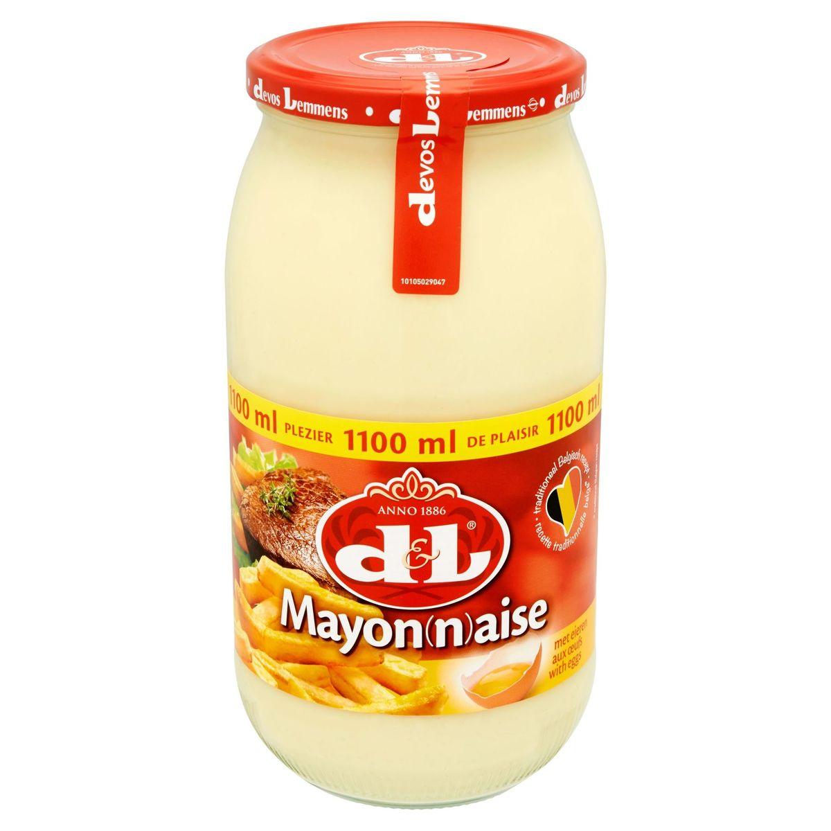 Devos Lemmens Mayonnaise aux Oeufs 1100 ml