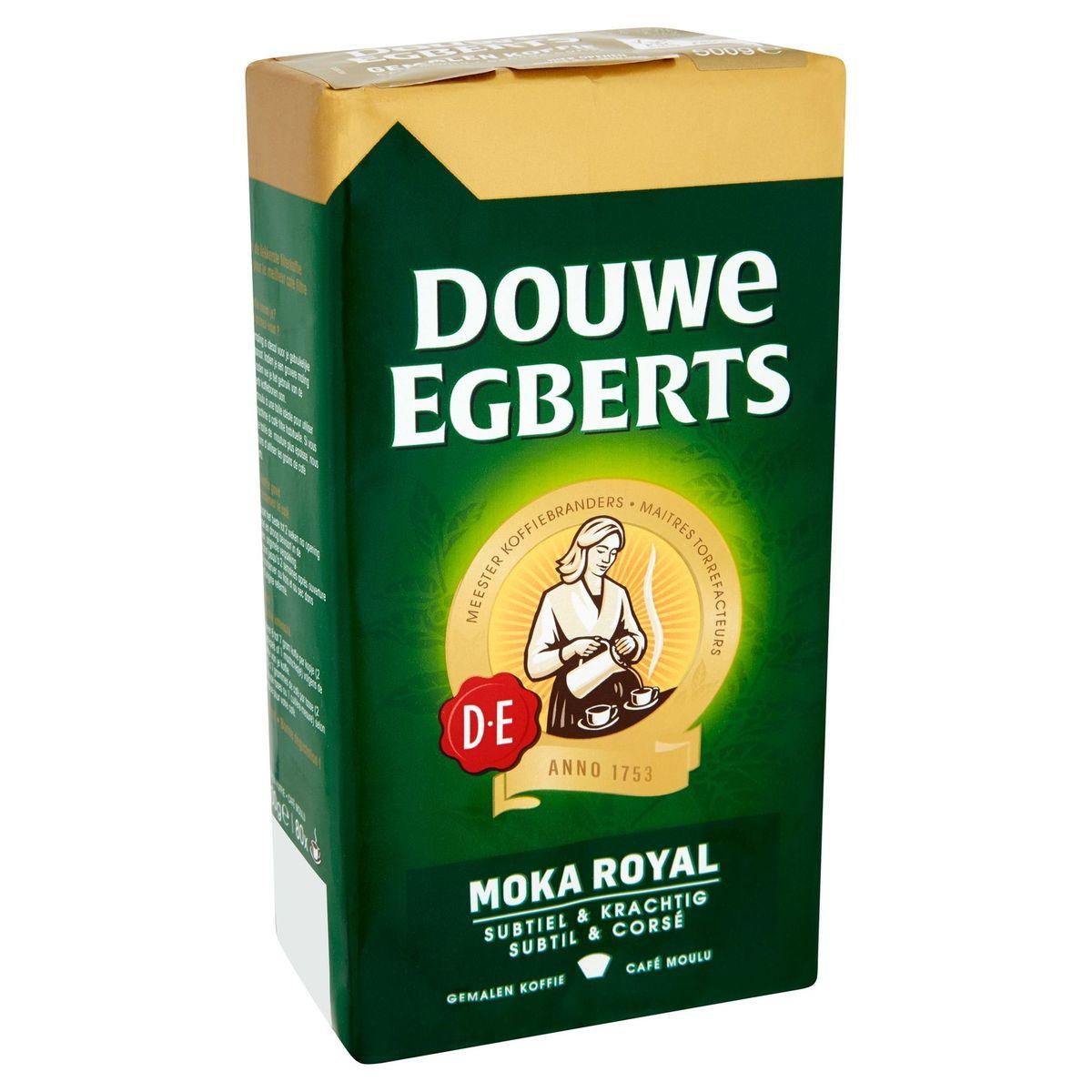 DOUWE EGBERTS Koffie Gemalen Moka Royal 500 g