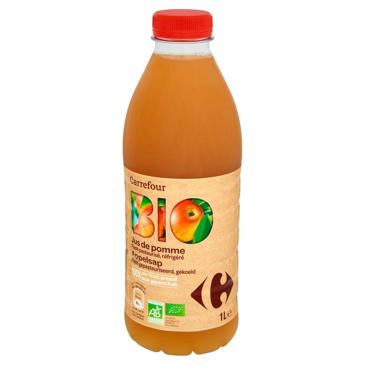 Carrefour Bio Jus de Pomme 1 L