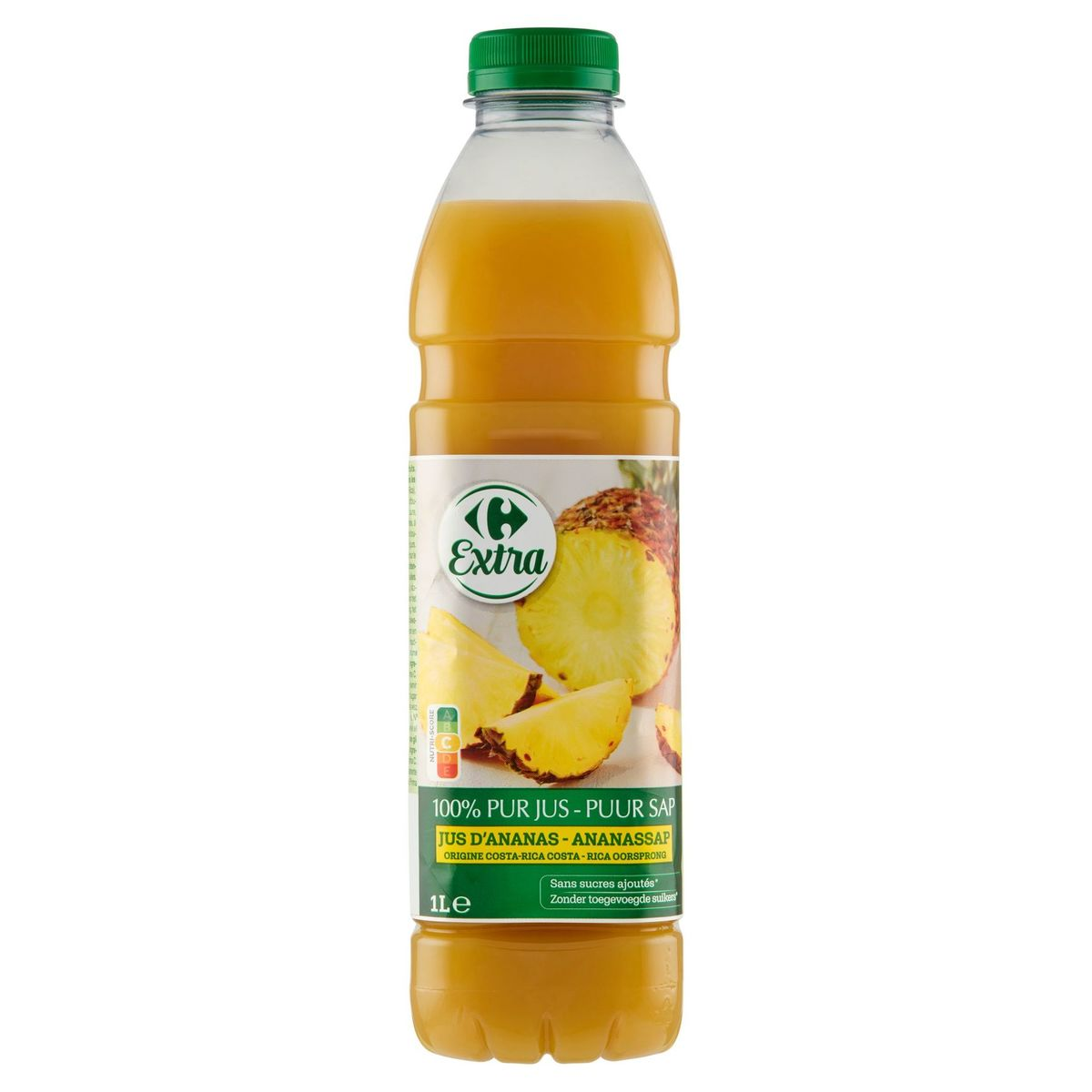 Carrefour Pur Jus Ananas 1 L