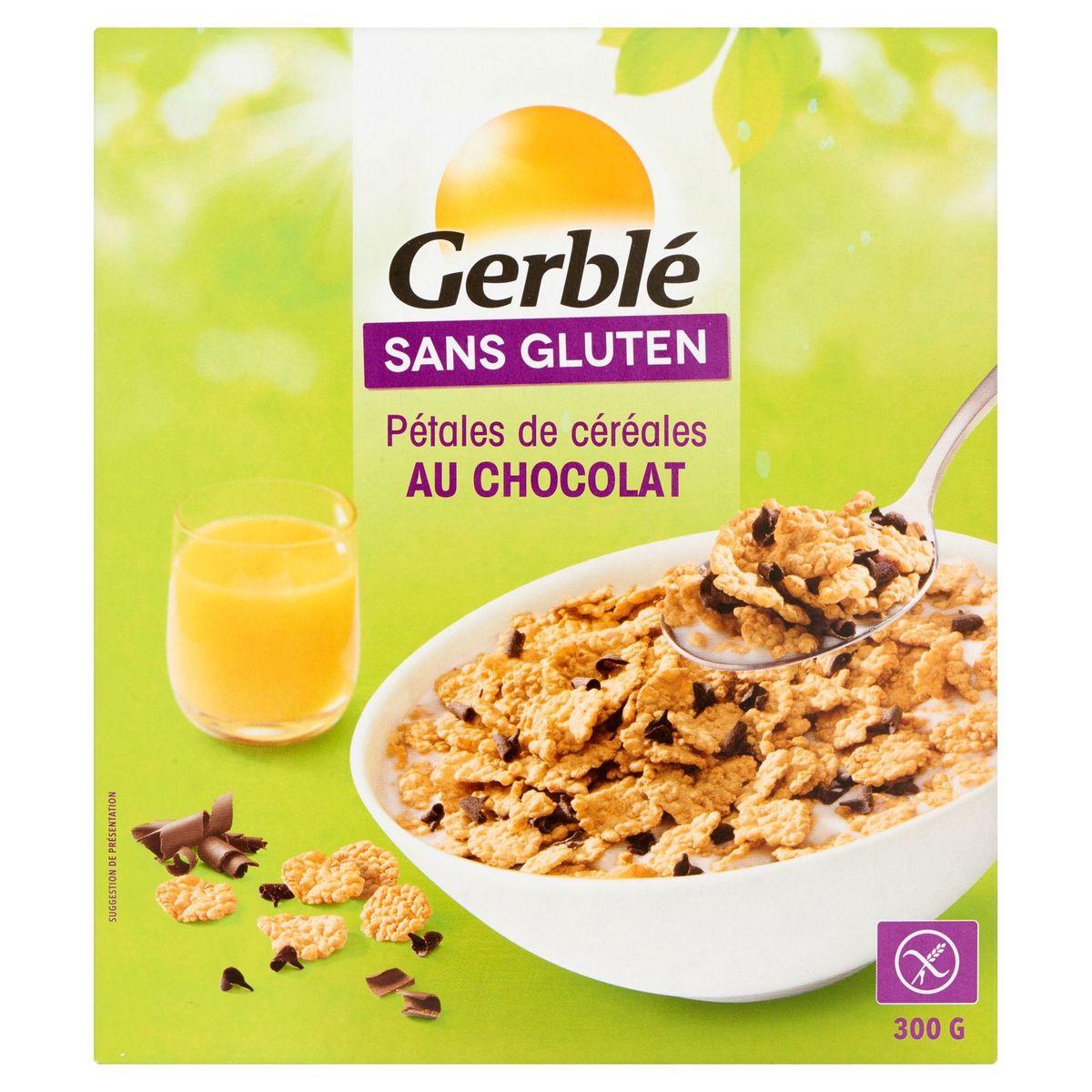 Gerblé Sans Gluten Pétales de Céréales au Chocolat 300 g