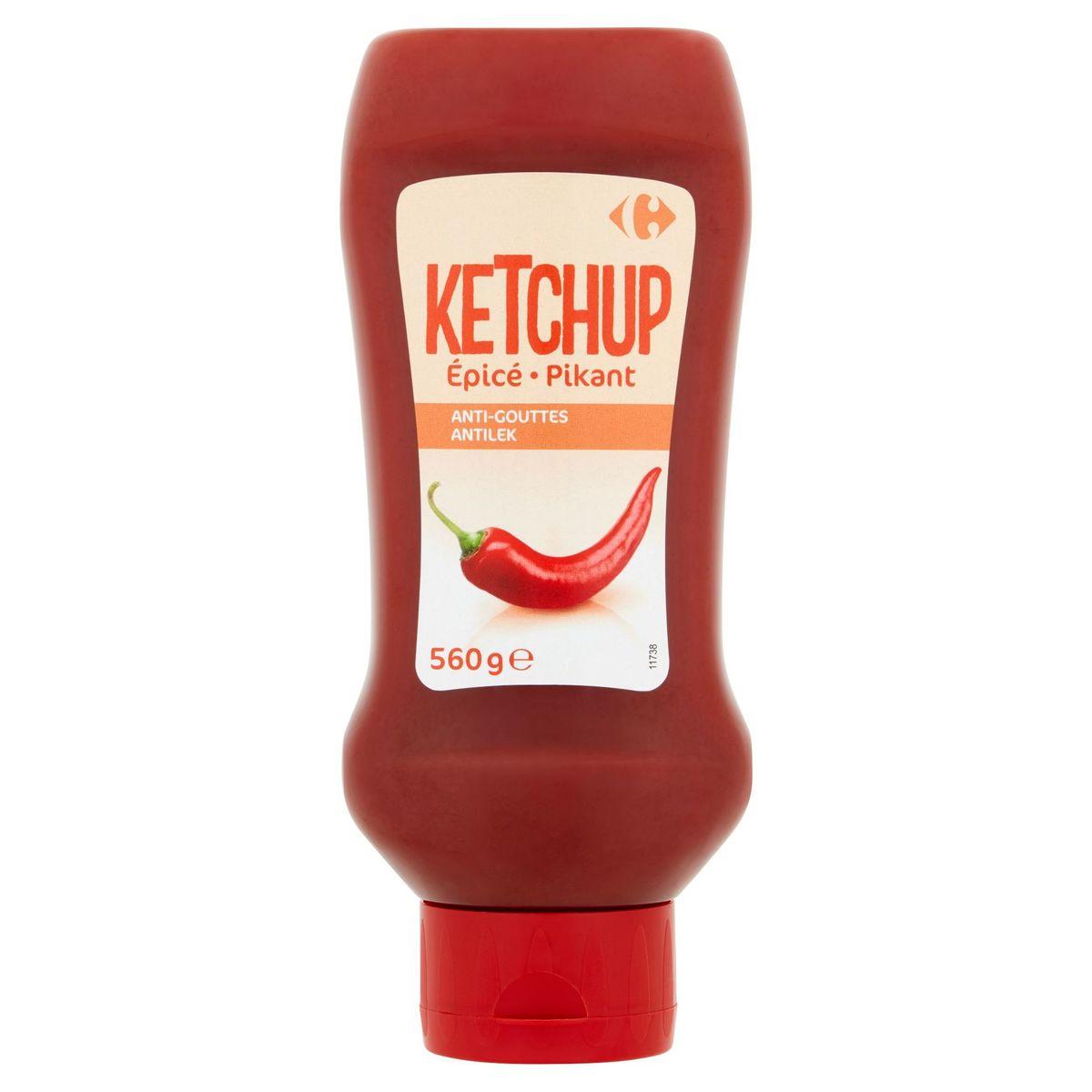 Carrefour Ketchup Pikant 560 g