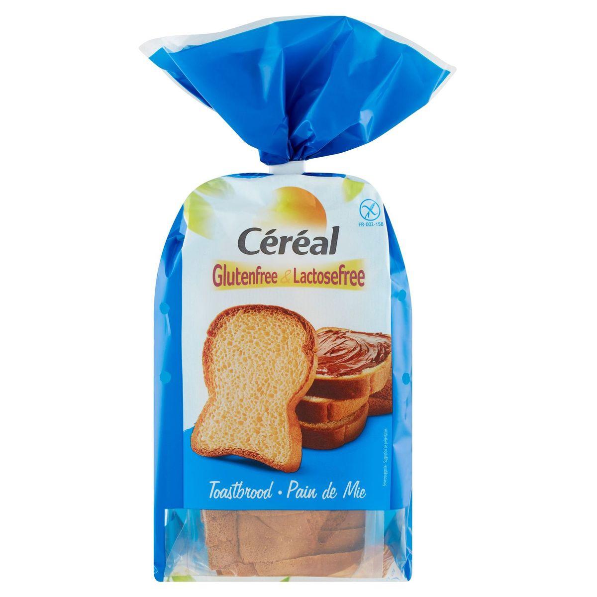 Céréal Glutenfree & Lactosefree Toastbrood 350 g
