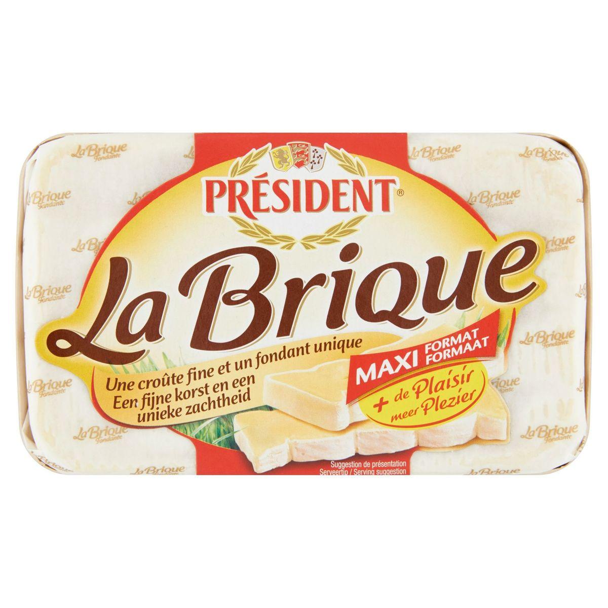 Président La Brique Fondante Maxi Format 220 g