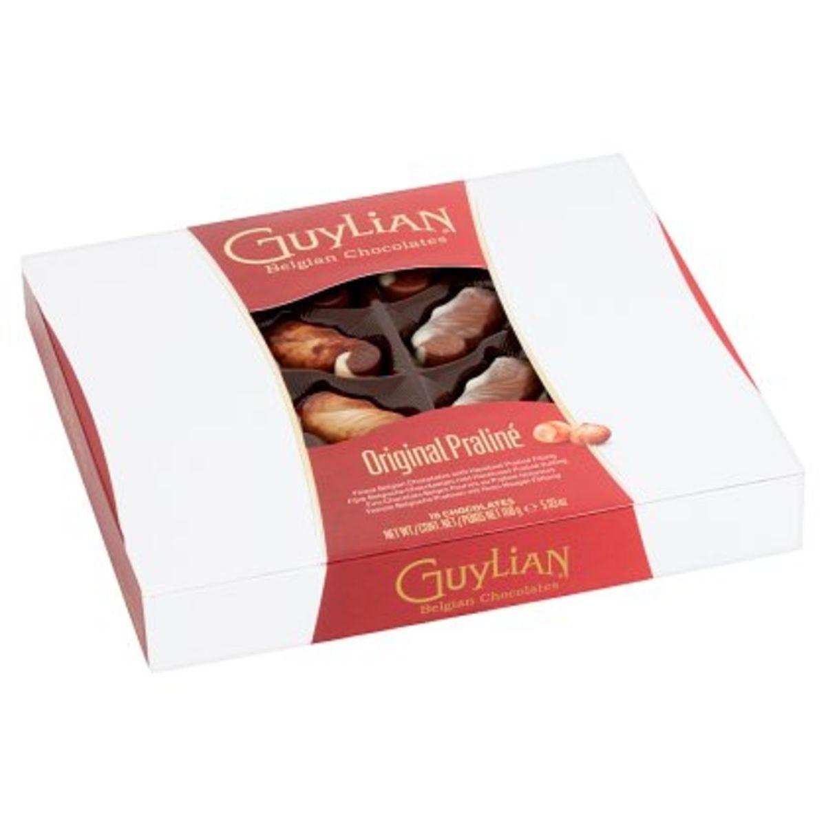 Guylian Chocolats Belges Fourrés au Praliné Noisettes 168 g