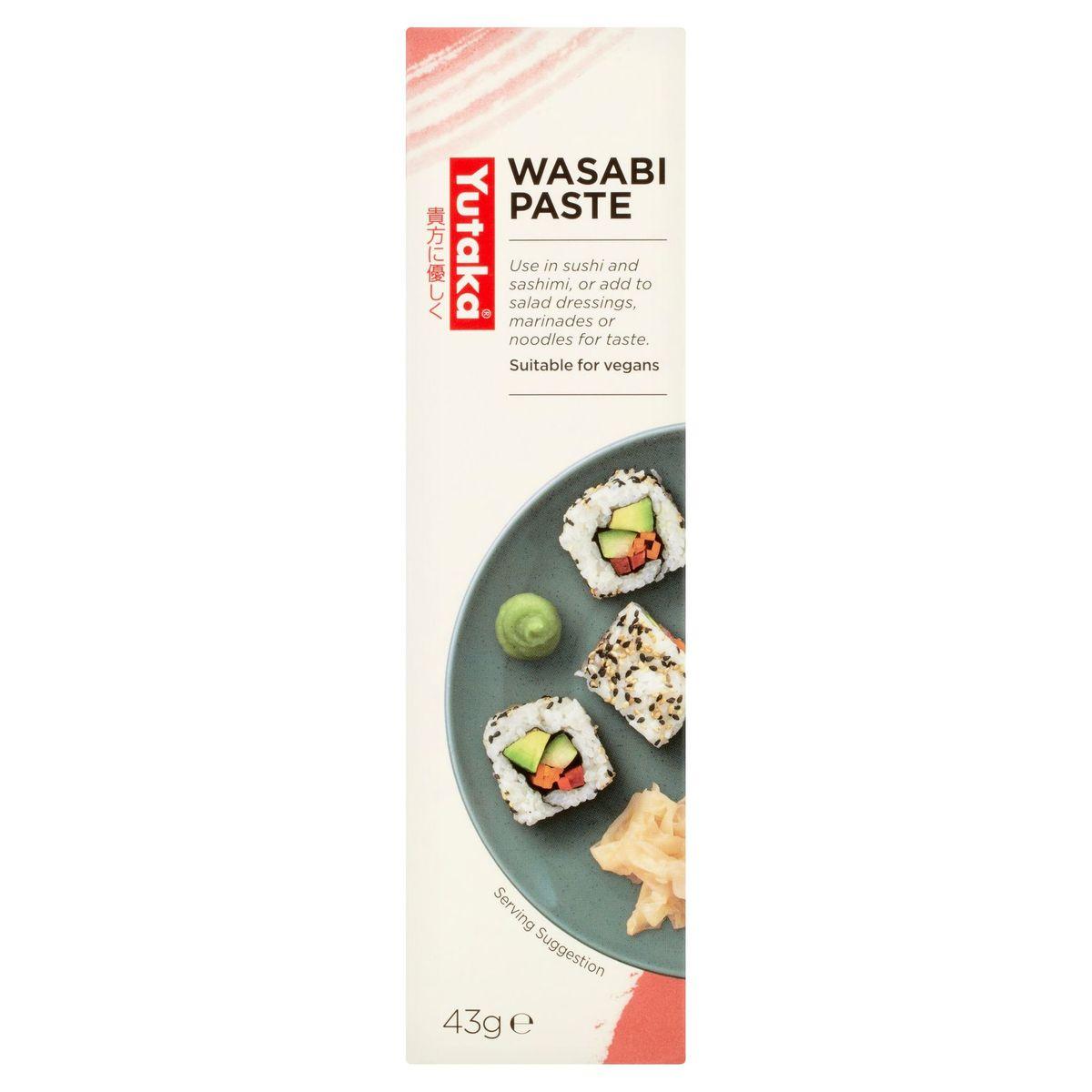 Yutaka Wasabi Paste 43 g