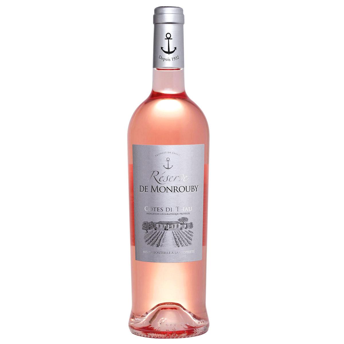 France Languedoc Côtes de Thau Réserve De Monrouby Rosé