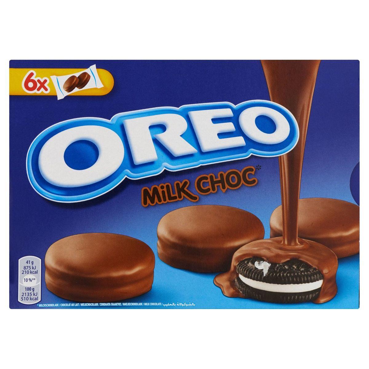 Oreo Chocolat au Lait 6 Sachets 246 g