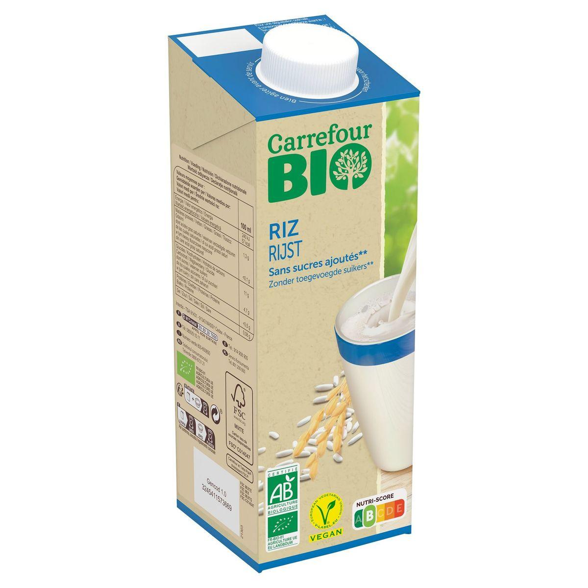 Carrefour Bio Boisson au Riz 1 L