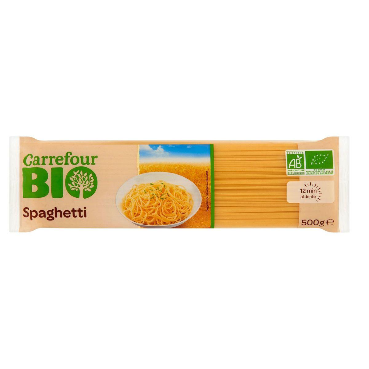 Carrefour Bio Spaghetti 500 g