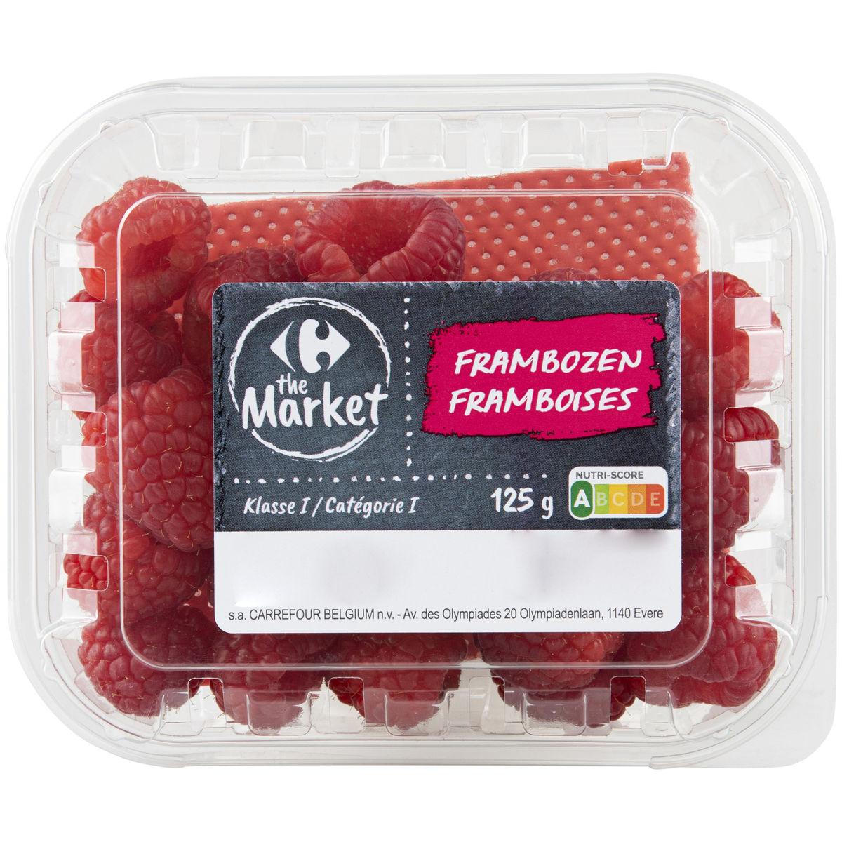 Carrefour Framboises 125g
