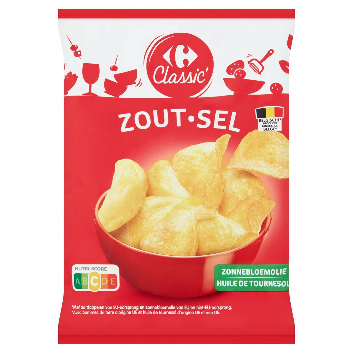 Carrefour Classic' Sel 120 g