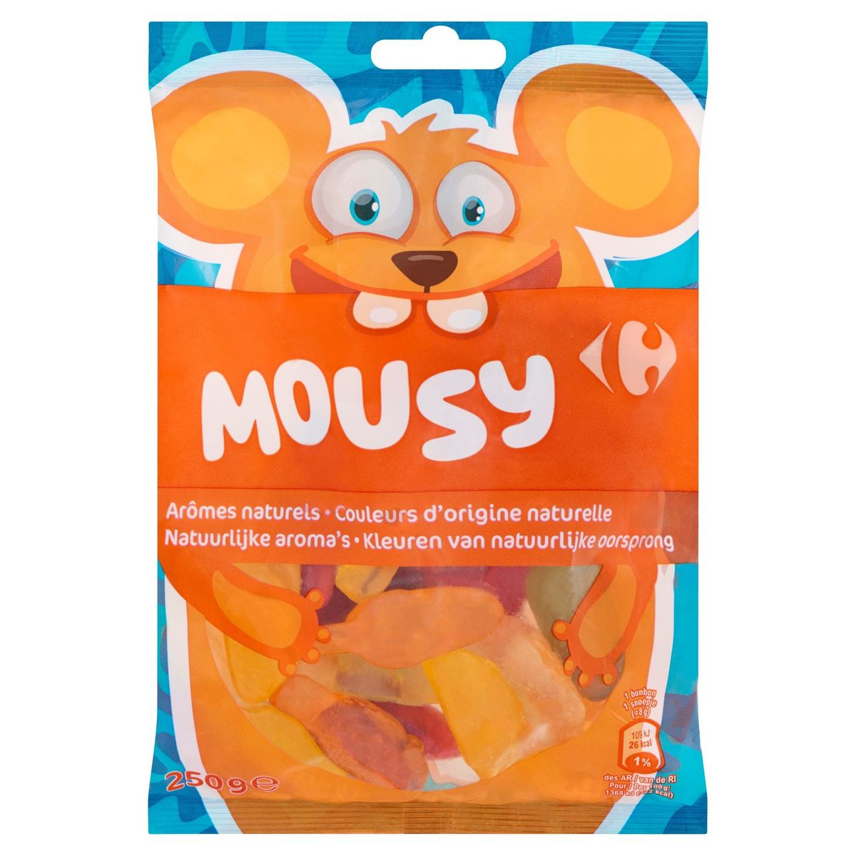 Carrefour Mousy 250 g