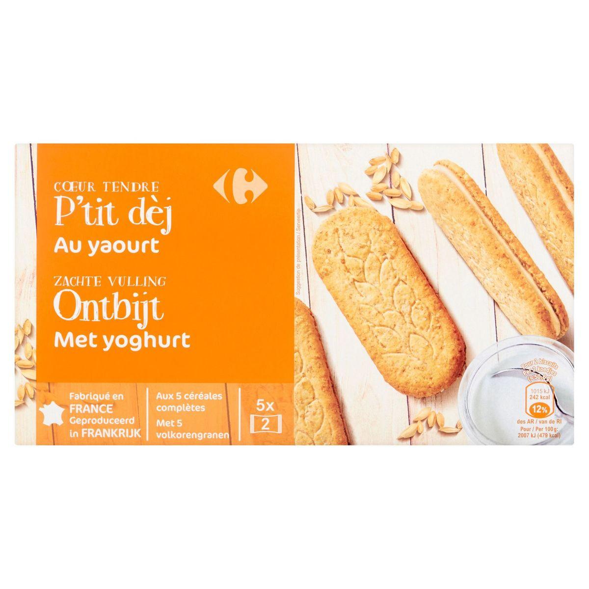 Carrefour Cœur Tendre P'tit Dèj au Yaourt 253 g