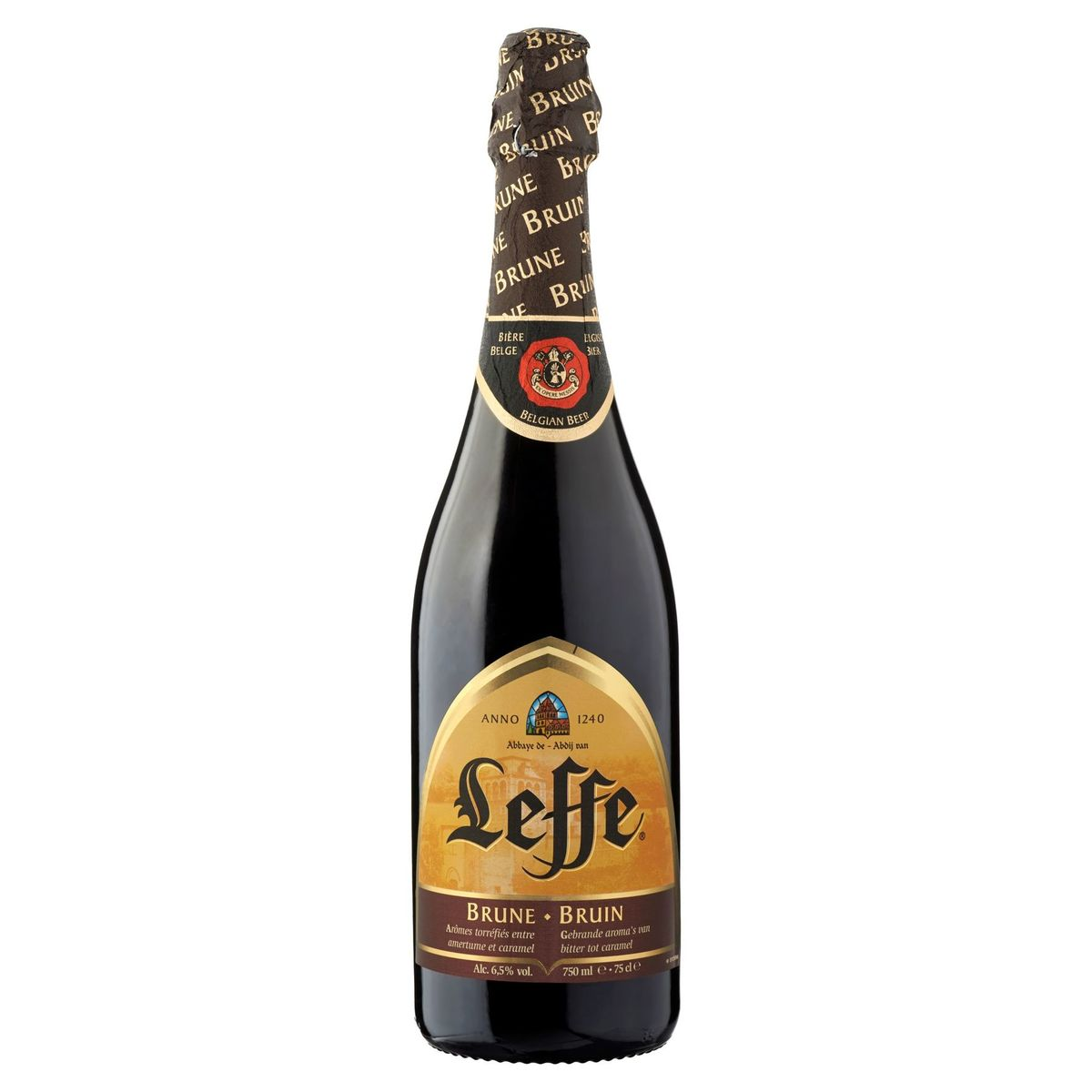 Leffe Belgisch Bier Bruin Fles 75 cl