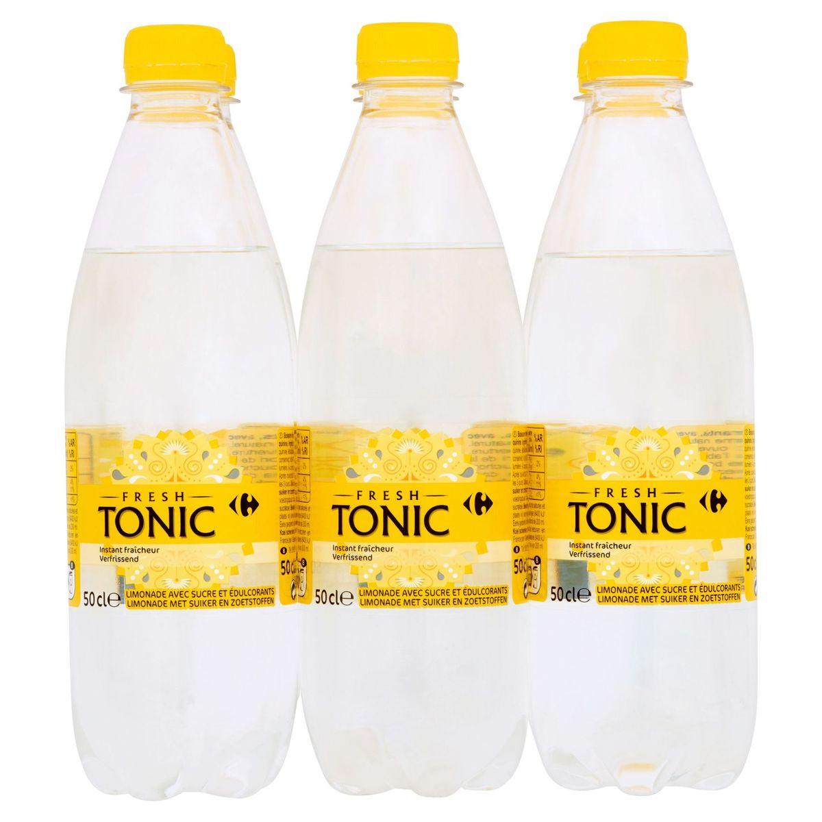 Carrefour Tonic Fresh 6 x 50 cl