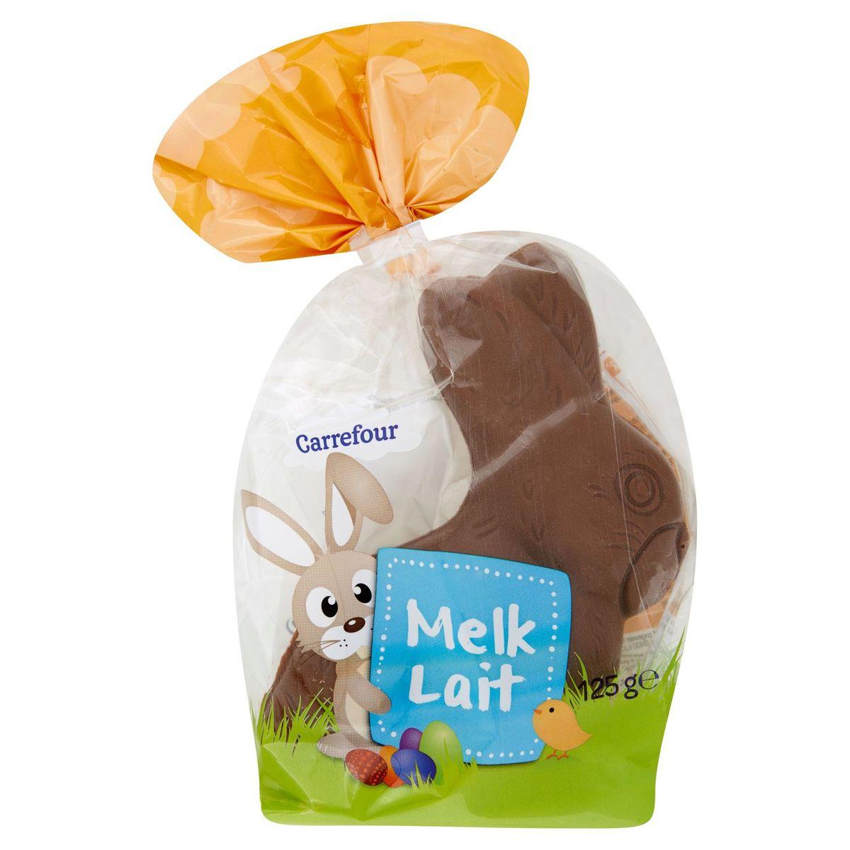 Carrefour Lapin de Pâques Chocolat au Lait 125g