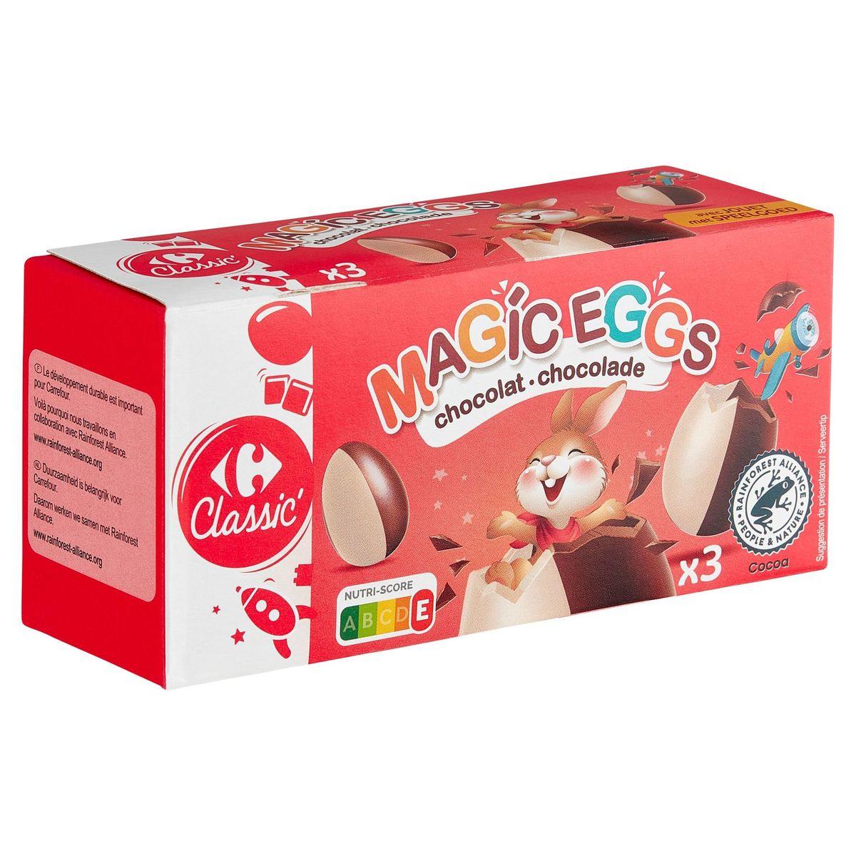Carrefour Kids Oeufs Magiques 3 x 20 g