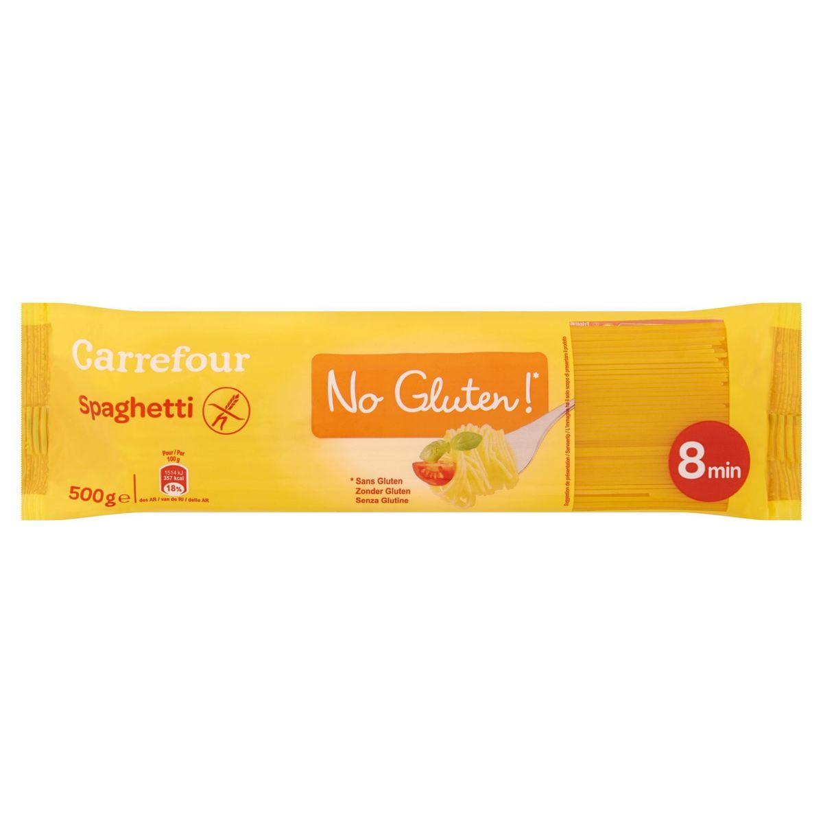 Carrefour Spaghetti No Gluten 500 g
