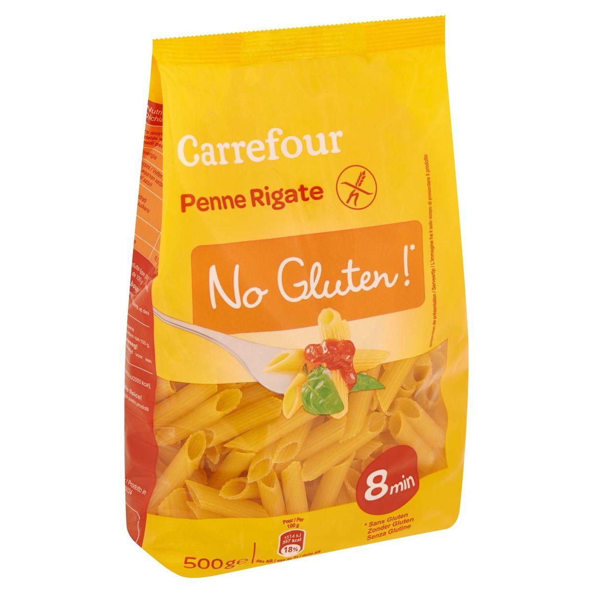 Carrefour Penne Rigate No Gluten! 500 g