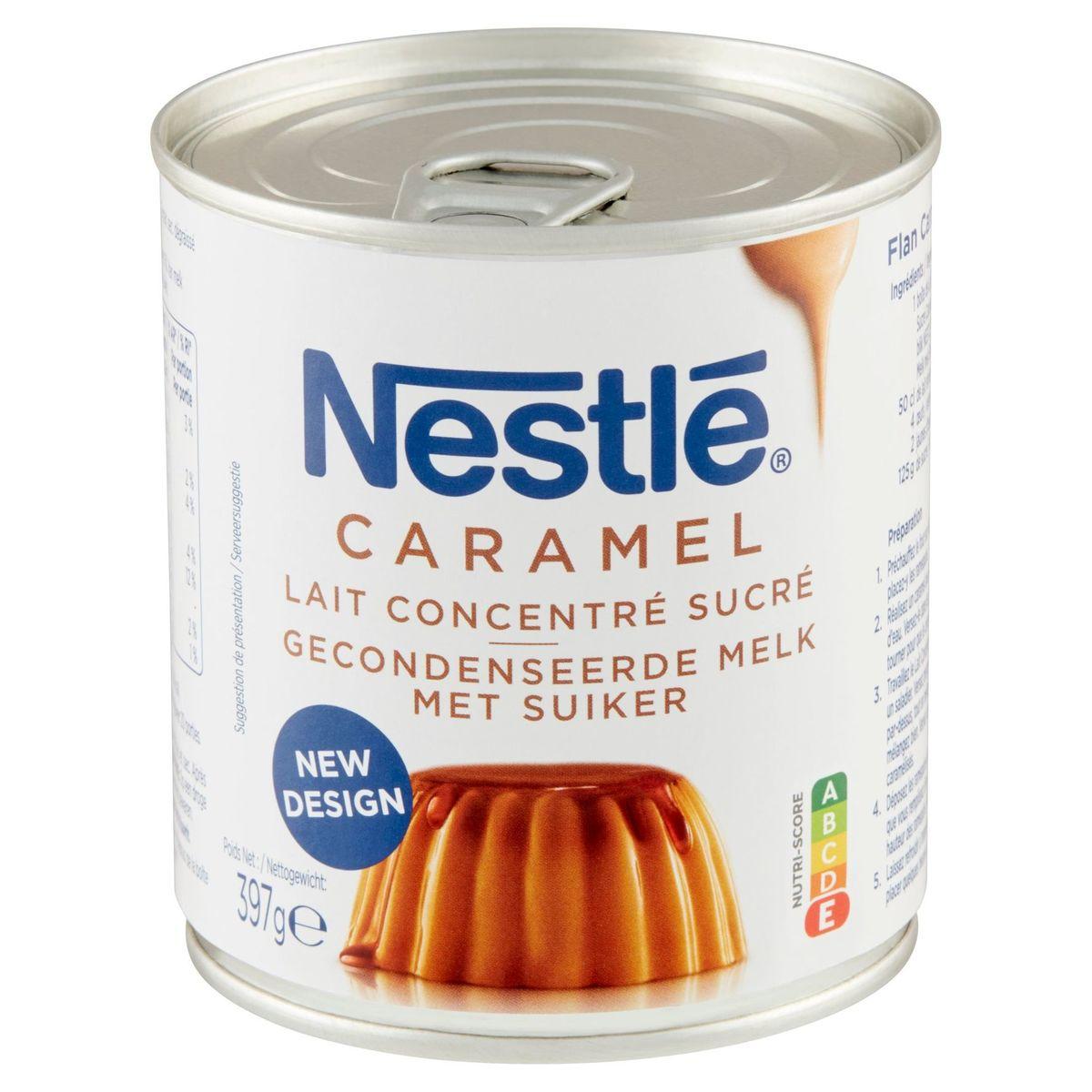 Nestlé Lait Concentré Sucré Caramel 397 g