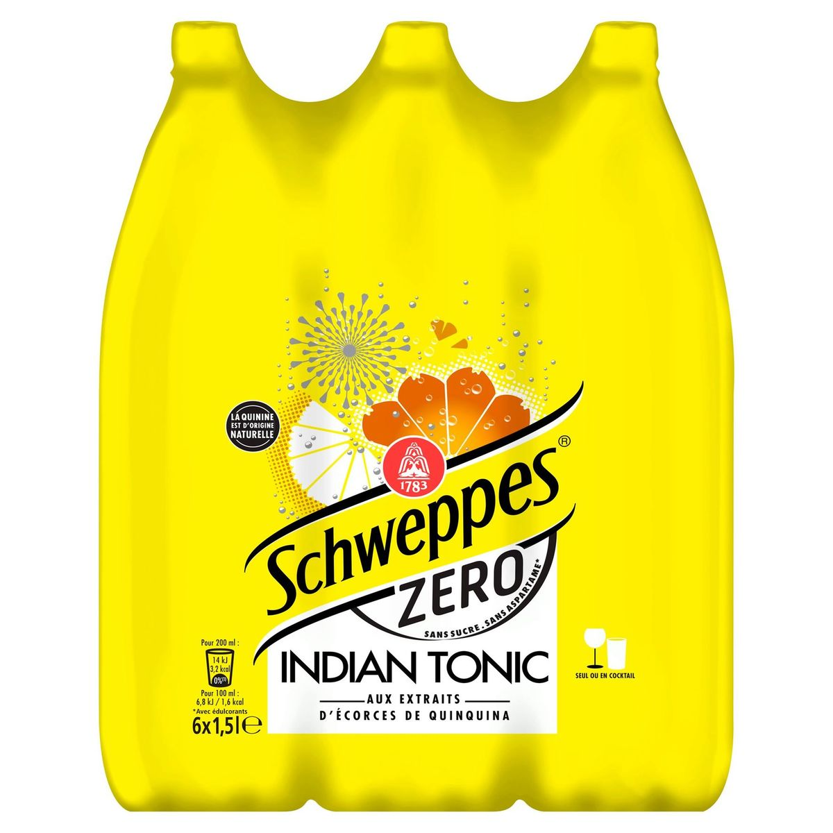 Schweppes Indian Tonic Zero 6x150cl