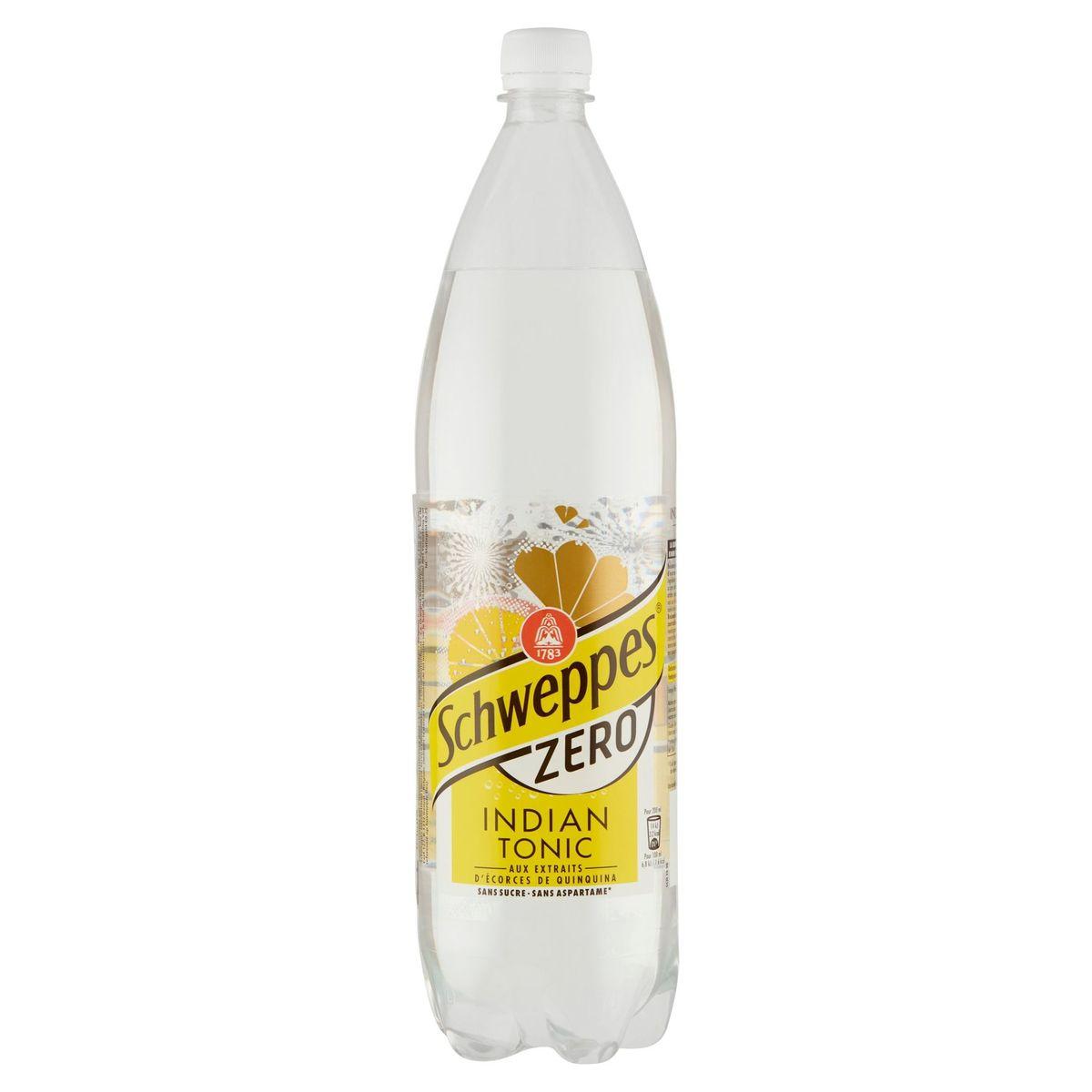 Schweppes Zero Indian Tonic 1.5 L
