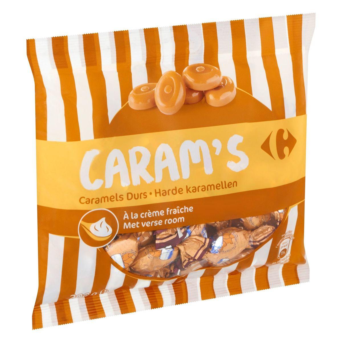 Carrefour Caram's Harde Karamellen met Verse Room 200 g