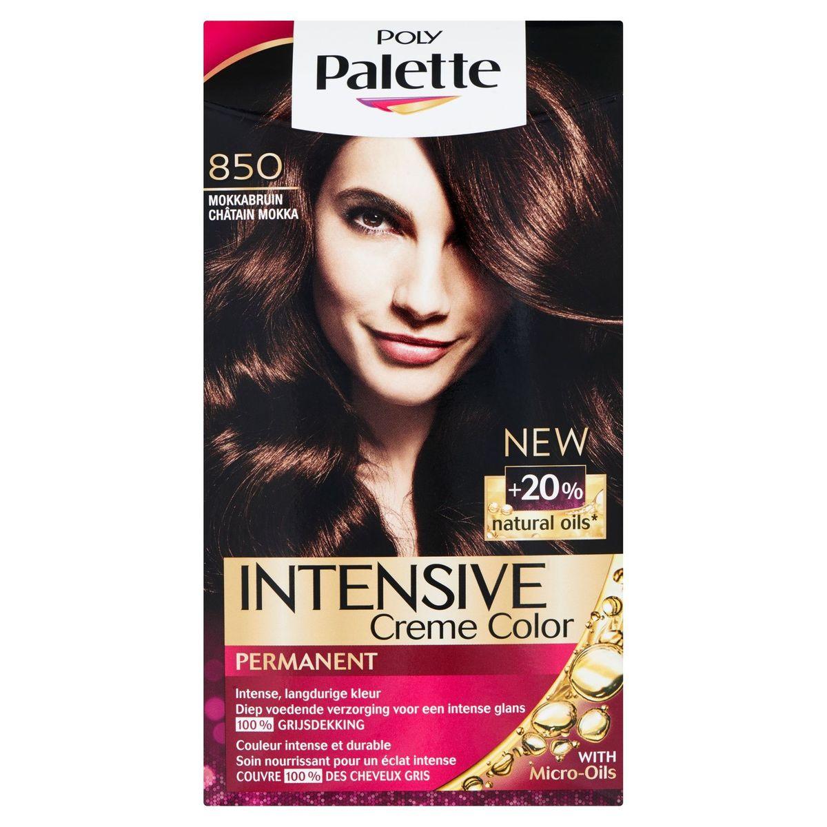 Poly Palette Permanent Color 850 Châtain Mokka