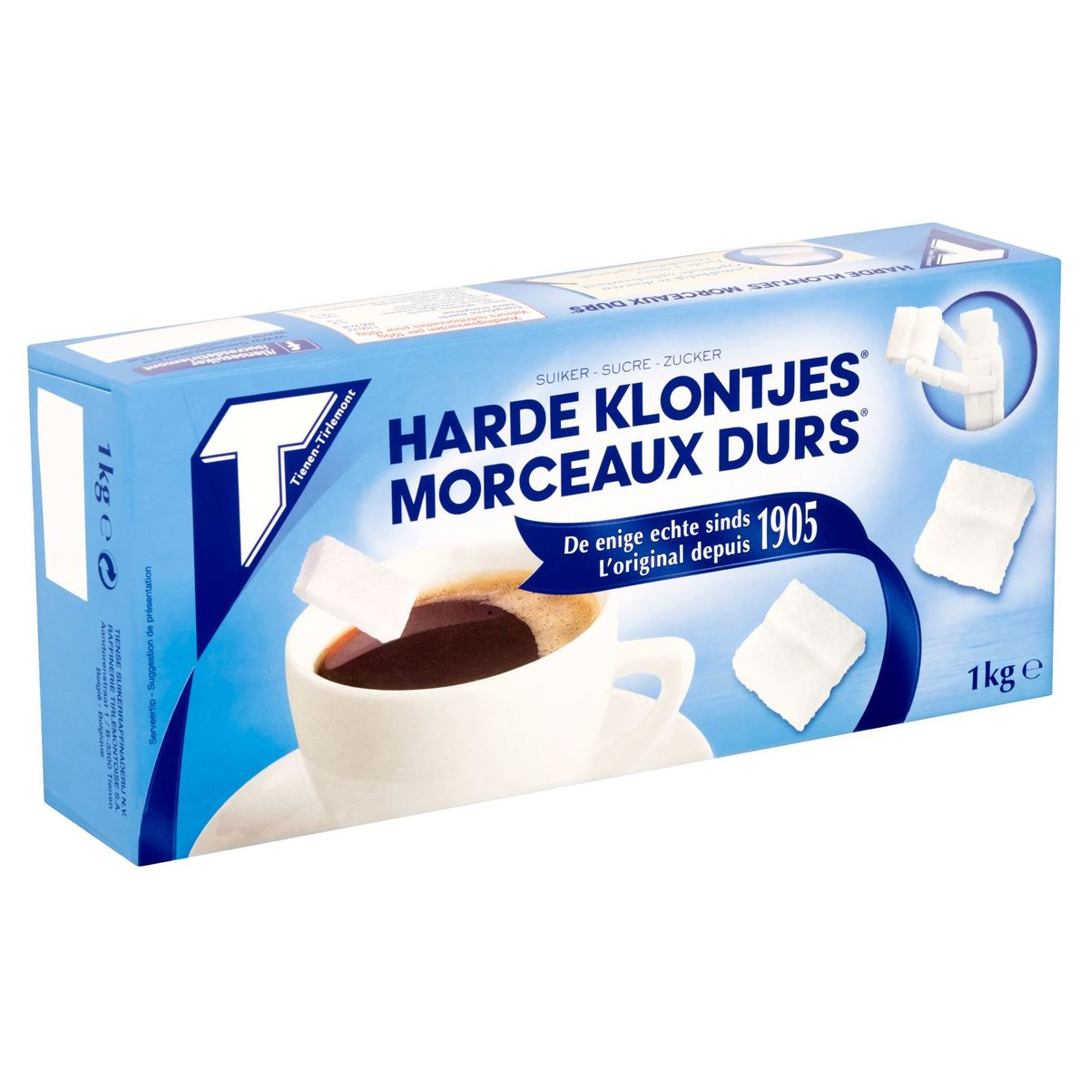 Tienen-Tirlemont Sucre Morceaux Durs 1 kg