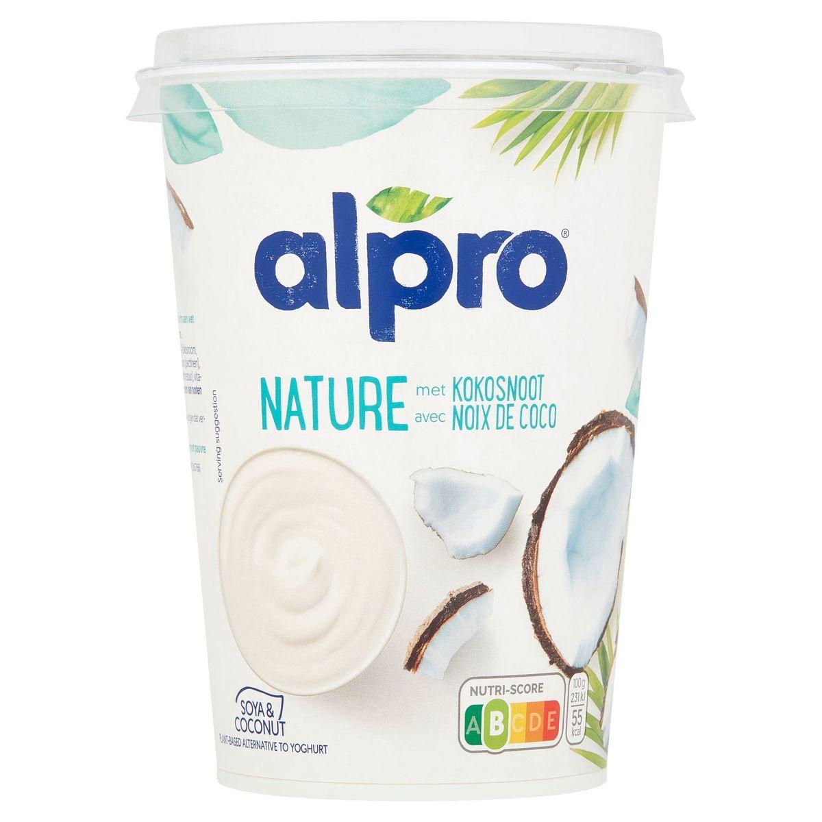 Alpro Soya & Coconut Nature avec Noix de Coco 500 g