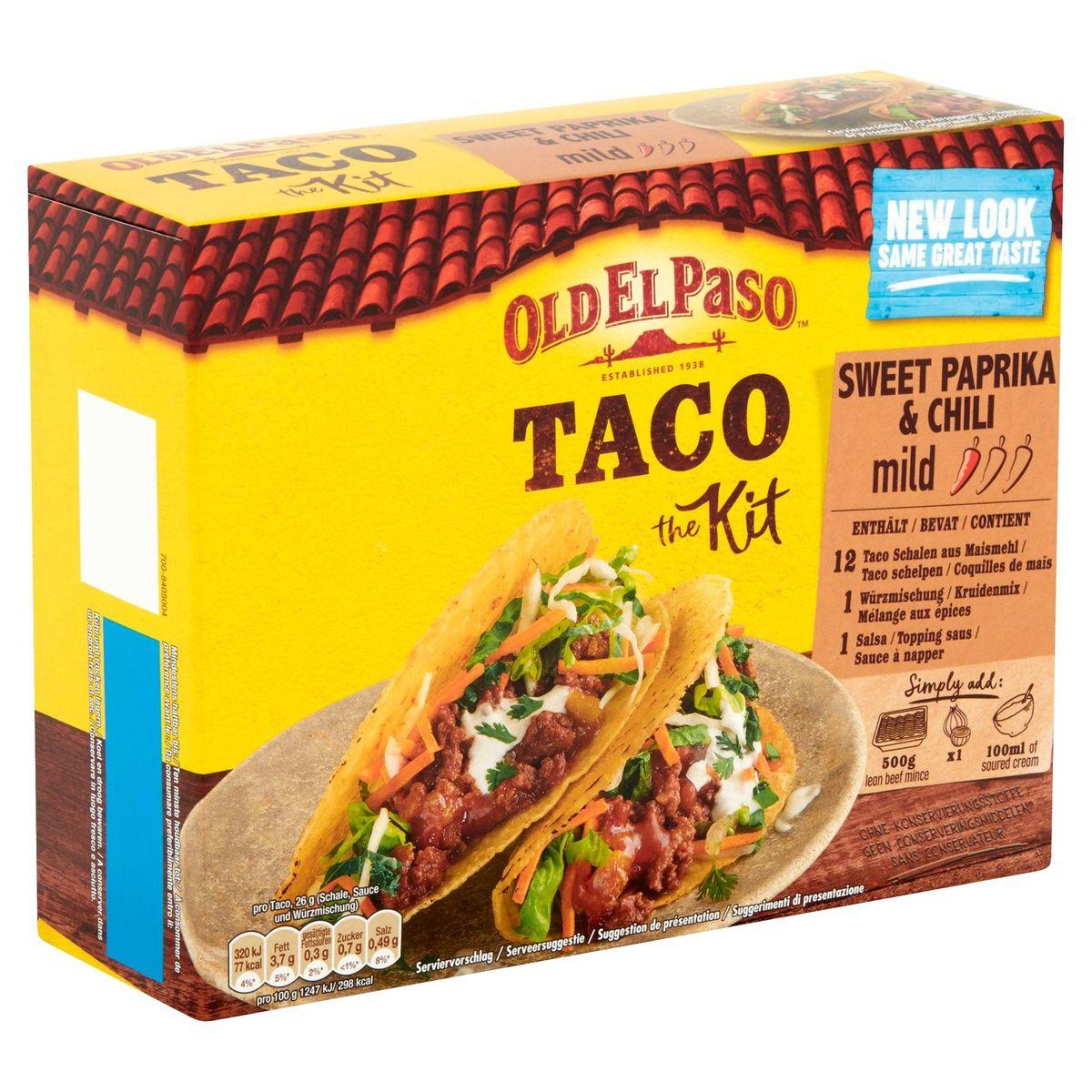 Old El Paso Taco the Kit Sweet Paprika & Chili 308 g