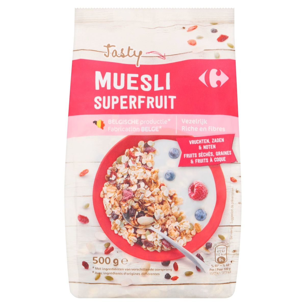 Carrefour Tasty Muesli Superfruit 500 g
