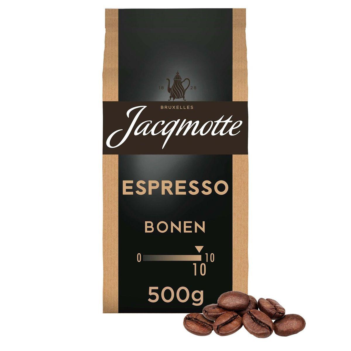 Jacqmotte Café Grains Espresso 500 g