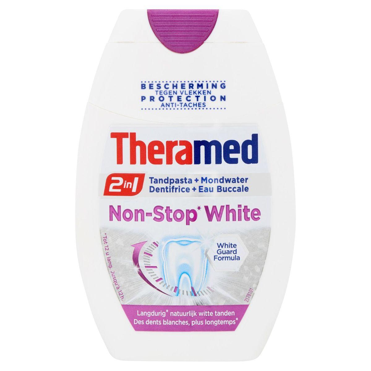 Theramed Non-Stop White Dentifrice 2en1 75 ml