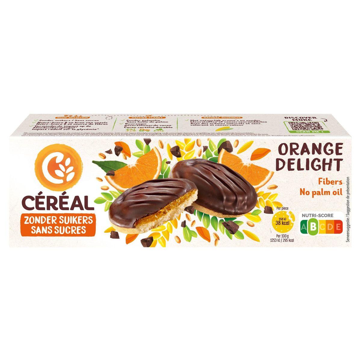 Céréal Zonder Suikers Orange Delight 11 Koekjes 140 g