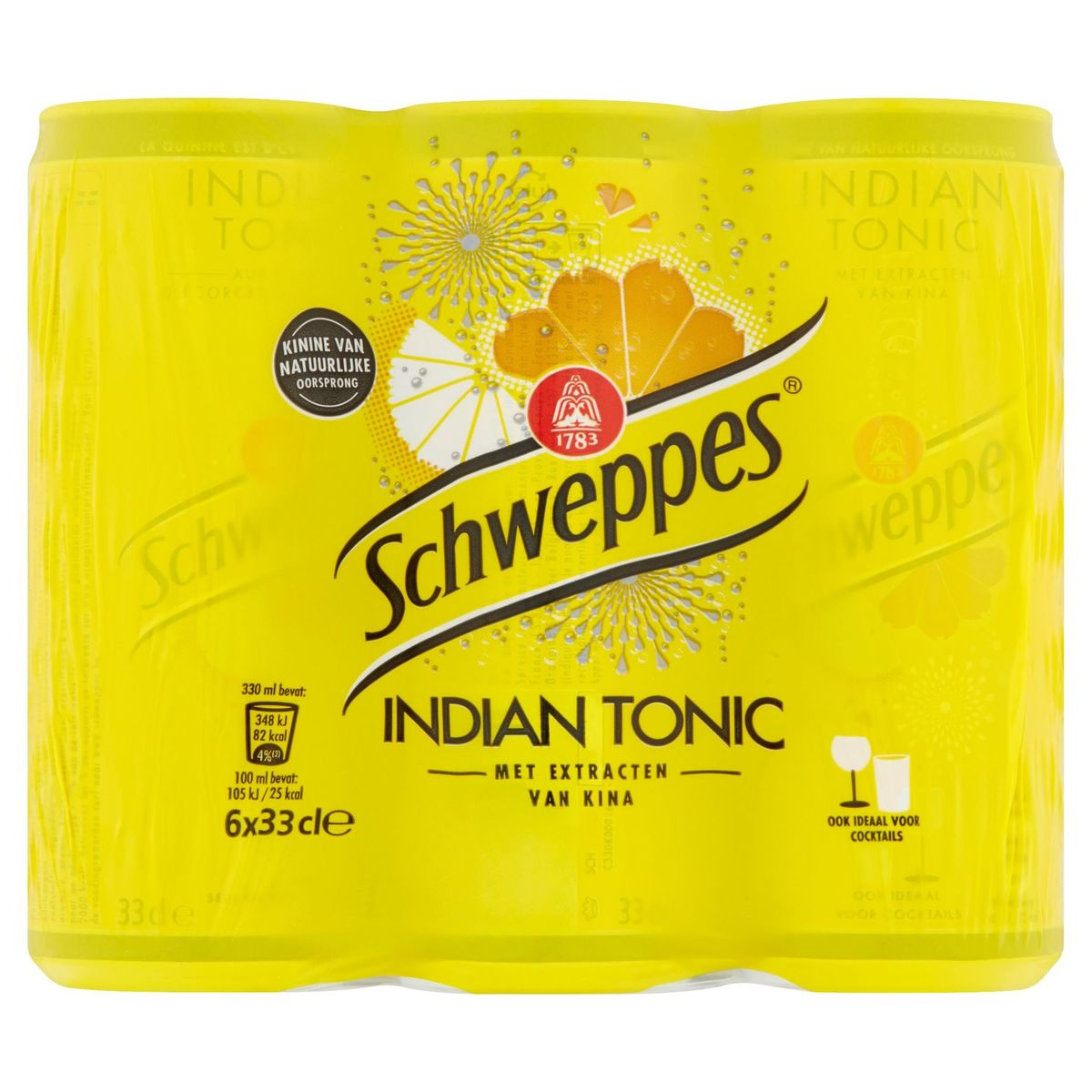 Schweppes Indian Tonic 6 x 33 cl