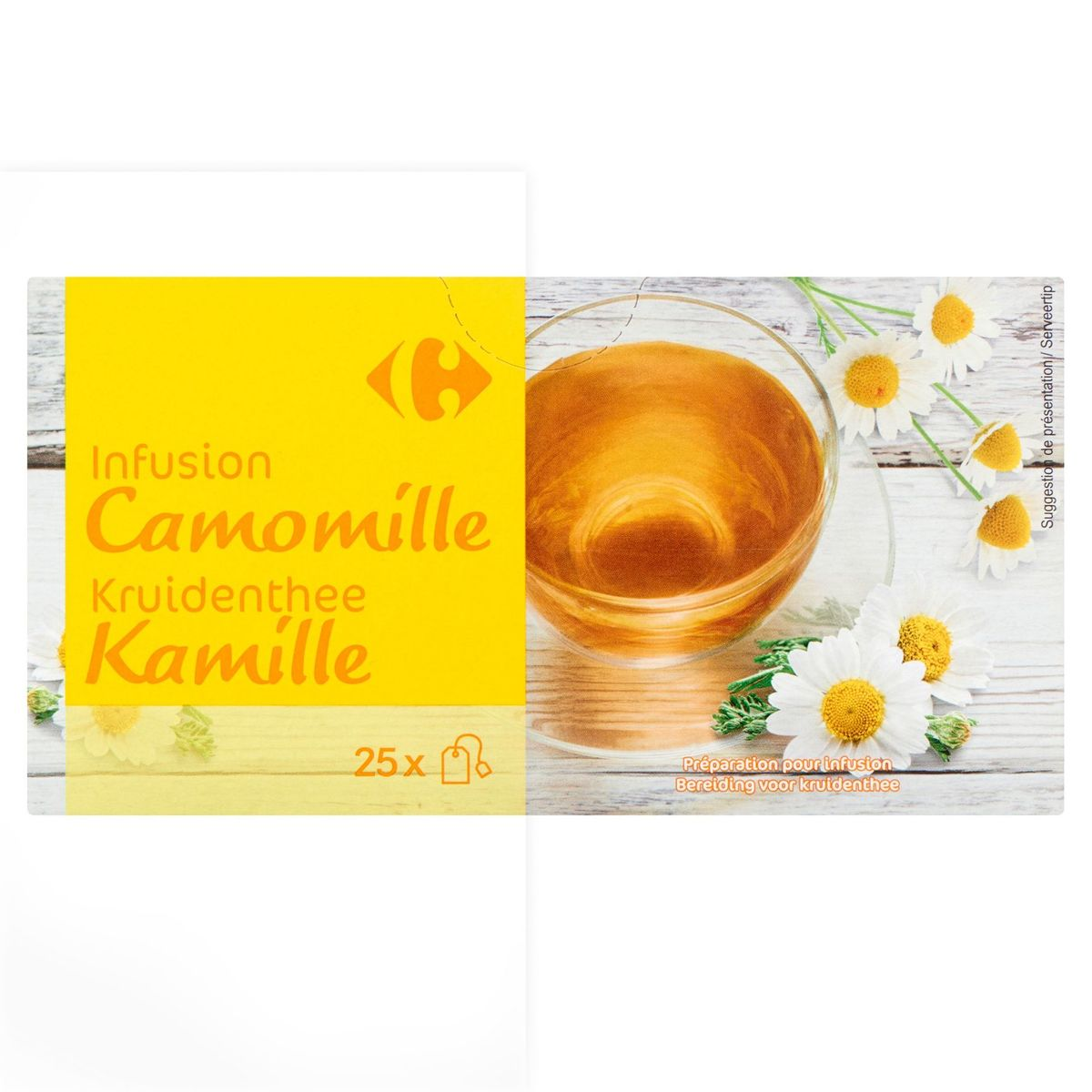 Carrefour Infusion Camomille 25 x 1.2 g