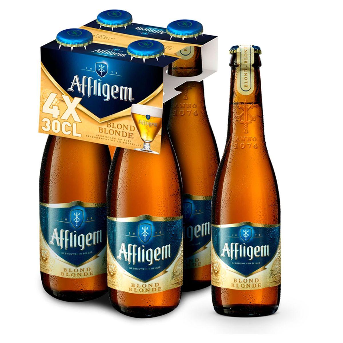 Affligem Abdijbier Tripel 9% ALC Fles 4x30cl