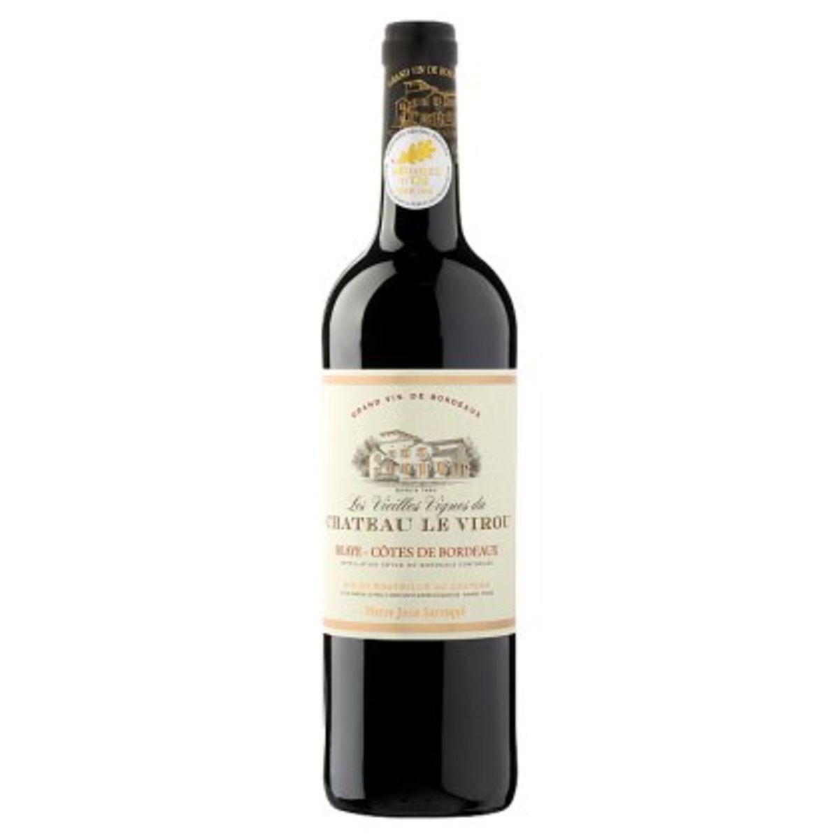 Les Vieilles Vignes du Château Le Virou Blaye Côtes de Bordeaux 750 ml
