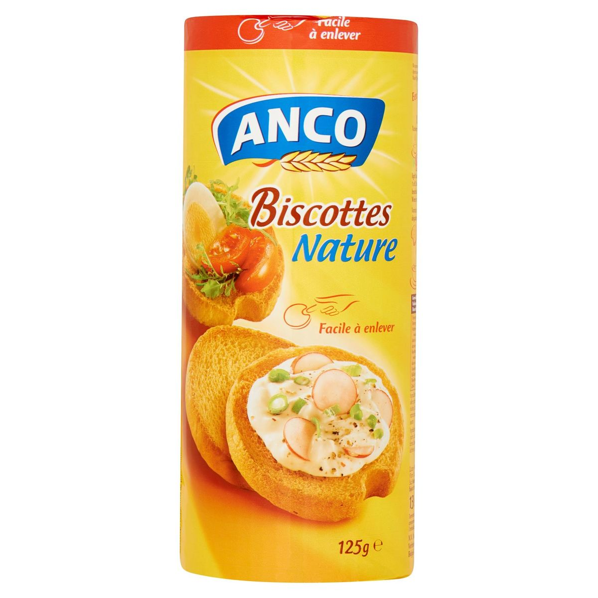 Anco Biscottes Nature 125 g