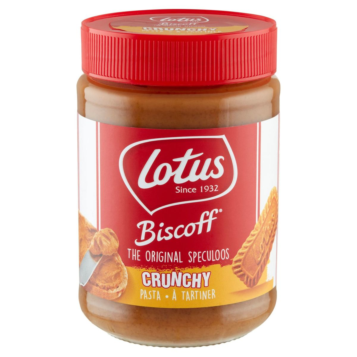 Lotus The Original Speculoos Crunchy à Tartiner 400 g